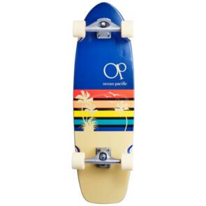 """OCEAN PACIFIC SUNSET SURF SKATE NAVY/OFF WHITE 32.25"""""""" 9.75"""""""""""