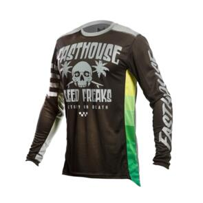 FASTHOUSE YOUTH GRINDHOUSE SWELL JERSEY BLACK/CHARCOAL