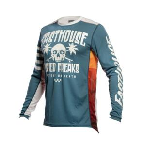 FASTHOUSE YOUTH GRINDHOUSE SWELL JERSEY SLATE/WHITE