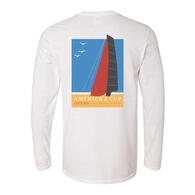 EMIRATES TEAM NZ SINCE 1851 L/S T-SHIRT WHITE