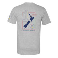 ETNZ WAITEMATA T-SHIRT GREY MARLE
