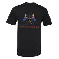 EMIRATES TEAM NZ BURGEE T-SHIRT BLACK
