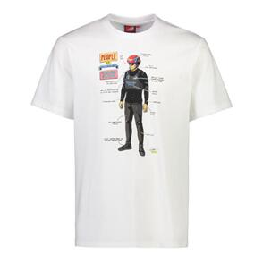 EMIRATES TEAM NZ SAILOR SAM T-SHIRT WHITE