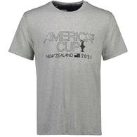 AMERICA' CUP LINE TEE GREY MARLE