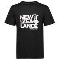 AMERICA'S CUP NZ TEE BLACK