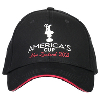 AMERICA' CUP TROPHY CAP - BLACK