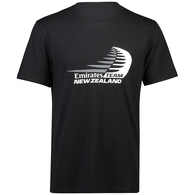 EMIRATES TEAM NZ LOGO TEE BLACK