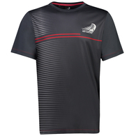 EMIRATES TEAM NZ TRIMMER T-SHIRT CHARCOAL