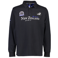 EMIRATES TEAM NZ TROPHY RUGBY JERSEY BLACK
