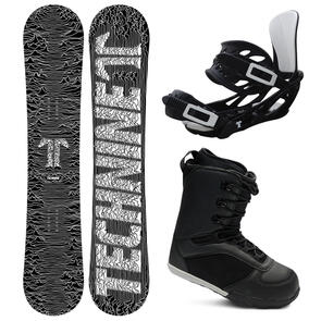 TECHNINE ICON SNOWBOARD PACKAGE WITH BOOTS