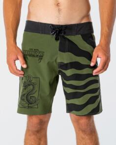 THE MAD HUEYS LET US LIVE BOARDSHORT MILITARY
