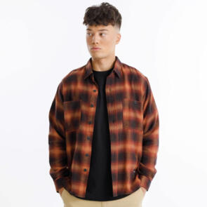 THING THING BUSCEMI SHIRT - RED CHECK