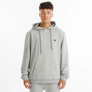 THING THING TITLE HOOD - GREY MARLE