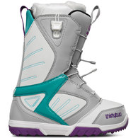 THIRTY TWO 2016 WOMENS GROOMER FT BOOTS GREY WHITE