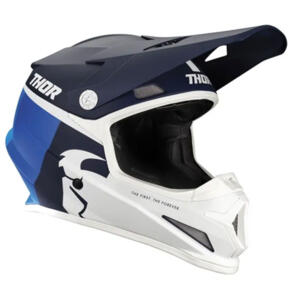 THOR HELMET S21 MX SECTOR RACER NAVY BLUE
