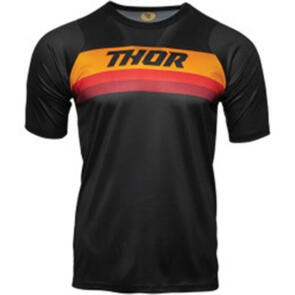 THOR JERSEY MTB SS ASSIST BLK/OR