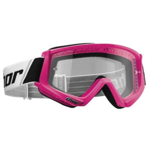 THOR YOUTH MX GOGGLES COMBAT PINK