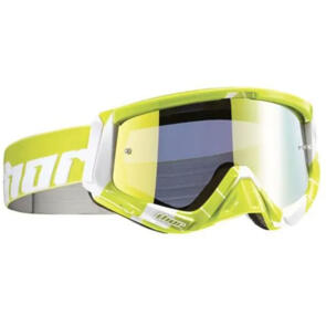 THOR MX GOGGLES SNIPER CHASE LIME WHITE