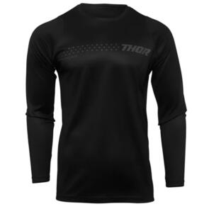 THOR MX JERSEY S22 SECTOR YOUTH MINIMAL BLACK
