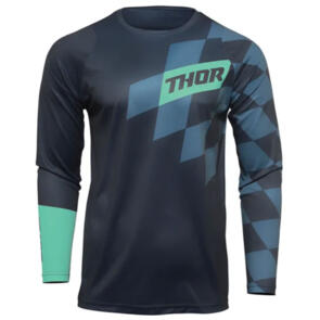 THOR MX JERSEY S22 SECTOR YOUTH BIRDROCK MIDNIGHT/MINT