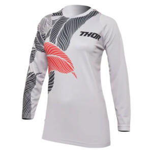 THOR MX JERSEY S22 SECTOR WOMEN URTH LIGHT GREY/CORAL