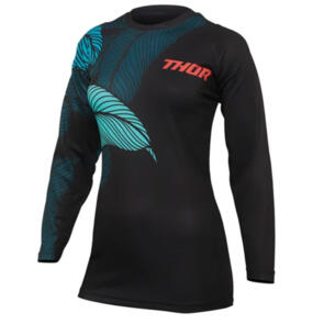 THOR MX JERSEY S22 SECTOR WOMEN URTH BLACK/TEAL