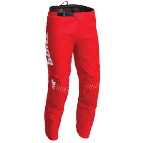 THOR MX PANT S22 SECTOR MINIMAL RED