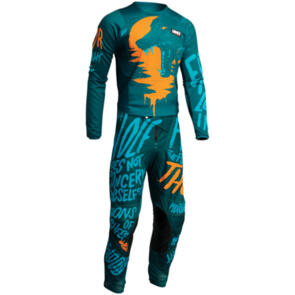 THOR 2022 YOUTH PULSE COUNTING SHEEP COMBO TEAL/TANGERI
