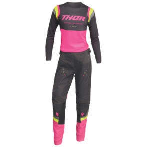 THOR 2022 WOMENS PULSE REV COMBO CHAR PINK