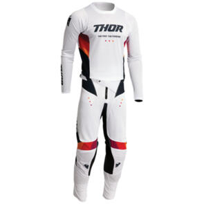 THOR 2022 PULSE AIR JERSEY AND PANTS WHITE MIDNIGHT