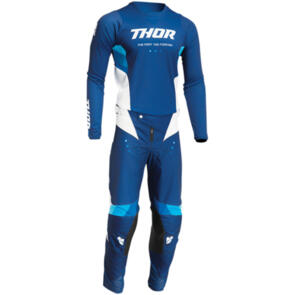 THOR 2022 PULSE REACT JERSEY AND PANTS NAVY WHITE