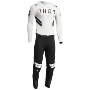 THOR 2022 PRIME HERO JERSEY AND PANTS WHITE BLACK