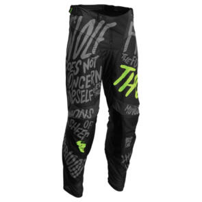 THOR 2022 YOUTH PULSE PANT COUNTING SHEEP CHARCOAL/ACID
