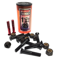 "THUNDER HARDWARE BLACK RED 1 1/8"" PHILLIPS"