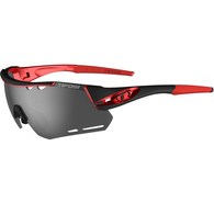 TIFOSI ALLIANT BLACK RED, SMOKE,AC RED, CLEAR LENS