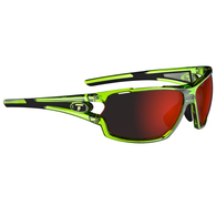 TIFOSI AMOK CRYSTAL NEON GREEN, CLARION RED / AC RED / CLEAR