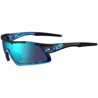 TIFOSI DAVOS CRYSTAL BLUE, CLARIONBLUE / AC RED / CLEAR LENS