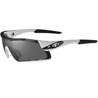 TIFOSI DAVOS WHITE/BLACK, SMOKE / AC RED / CLEAR LENS