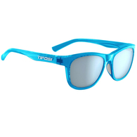 TIFOSI SWANK CRYSTAL SKY BLUE, SMOKE BRIGHT BLUE LENS