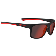 TIFOSI SWICK SATIN BLACK/CRIMSON, SMOKE RED LENS