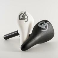 TANGENT PLASTIC SEAT & POST COMBO - BLACK