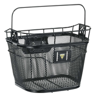 TOPEAK H/BAR BASKET FRONT BLACKWITH FIXER 3