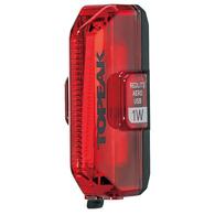 TOPEAK LIGHT REDLITE REAR AERO USB 1W 55 LUMENS