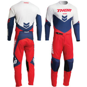 THOR 2022 SECTOR CHEVRON RED/NAVY GEAR SET