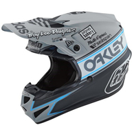 TROY LEE DESIGNS YOUTH SE4 ECE POLYACRYLITE TEAM EDITION 2 GRAY