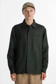 THING THING BUSCEMI SHIRT - LINEN/RAYON BLEND - FORREST