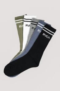 RVCA UNION SOCK III BK SOCKS BLACK
