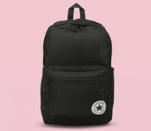 CONVERSE GO 2 BACK PACK  BLACK