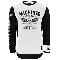 UNIT AIRBOURNE JERSEY WHITE