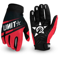 UNIT CHASER GLOVES RED